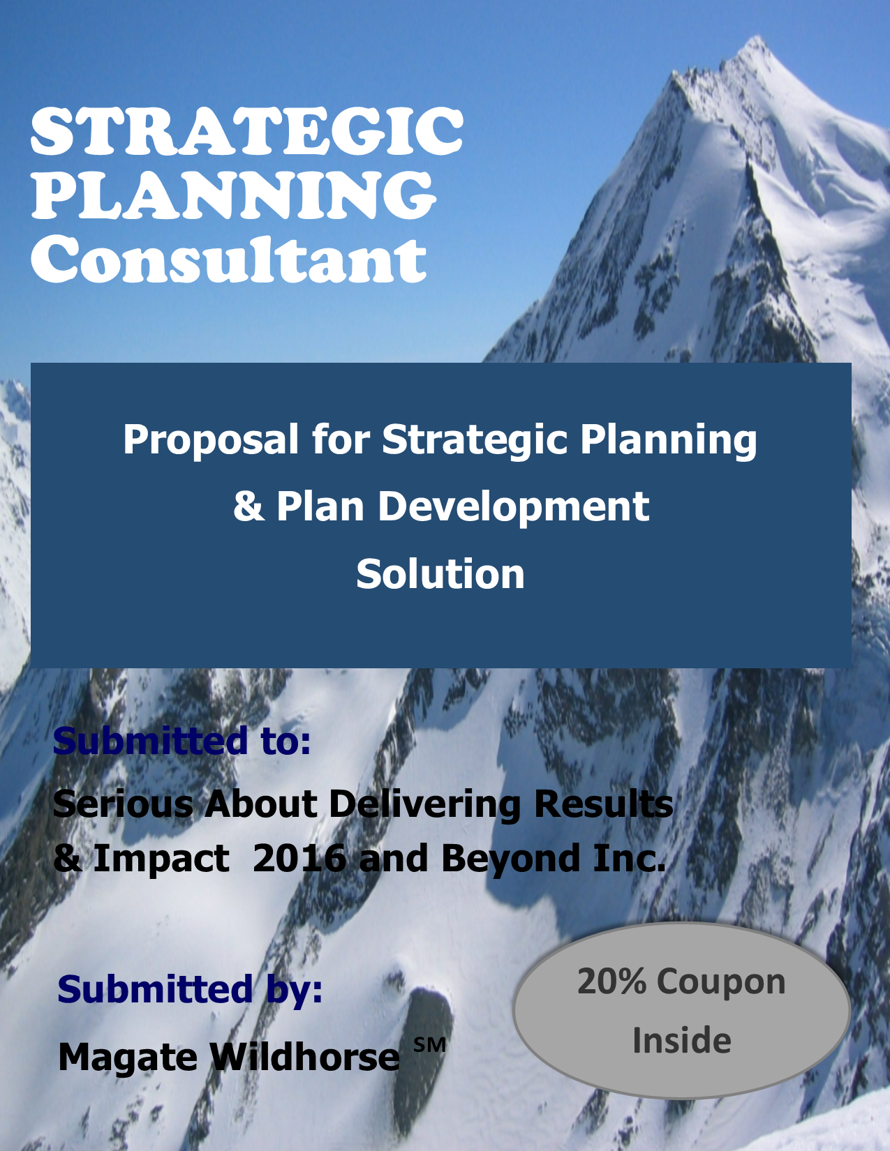 Strategic planning research proposal