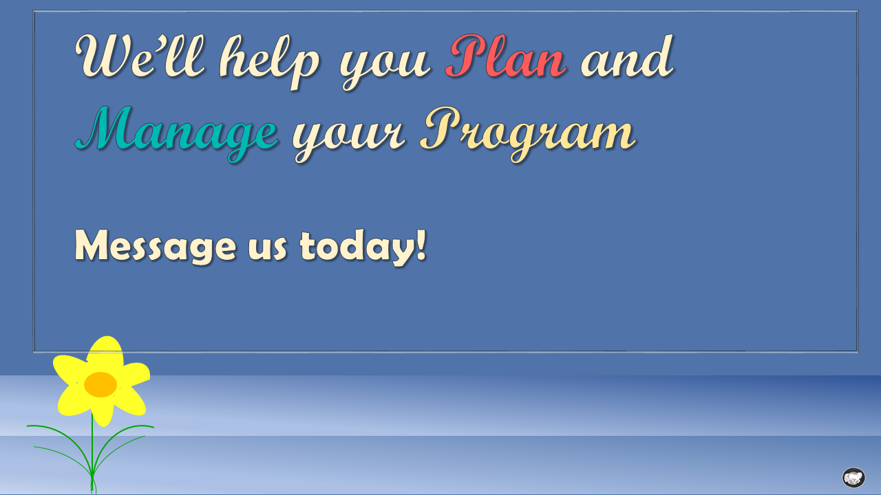 plan and program management help