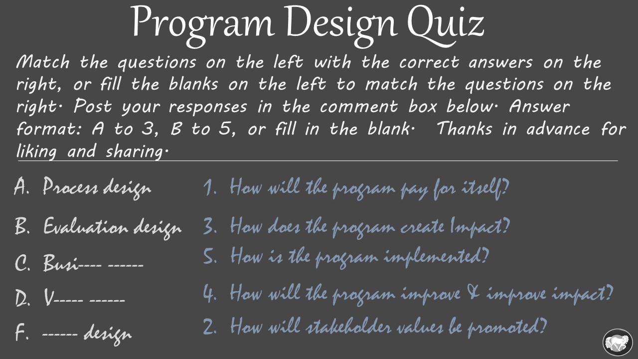 program design quiz