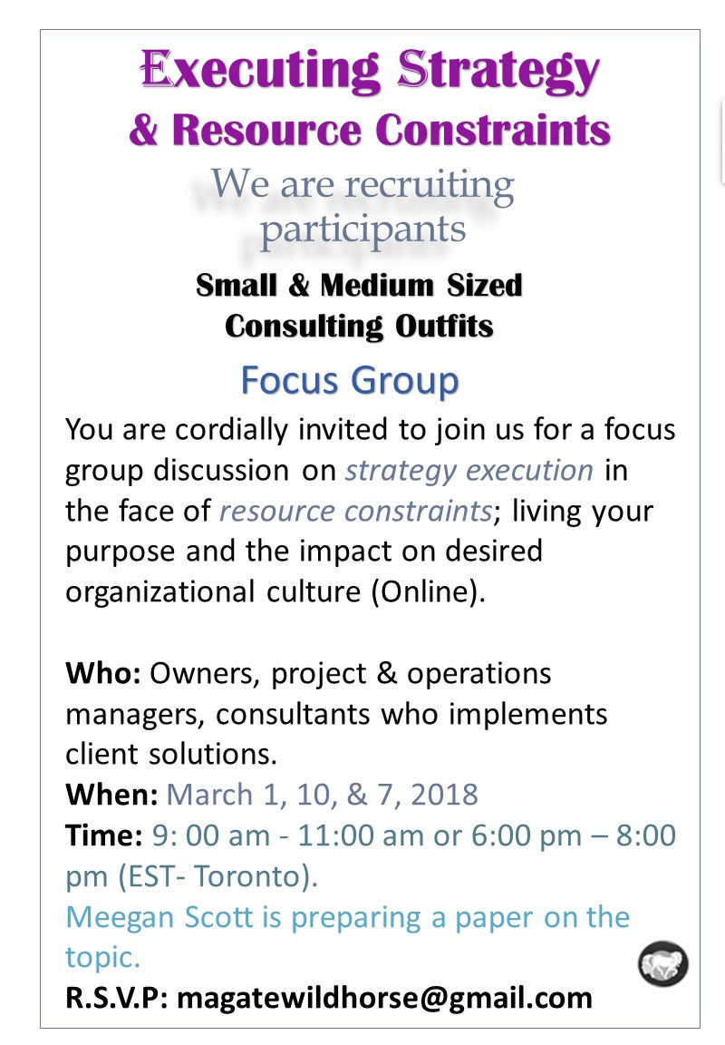 Recruiting Focus Group Participantss