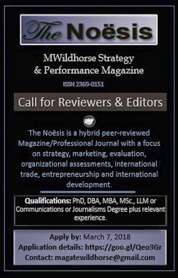 Call for Reviewers for The Noësis