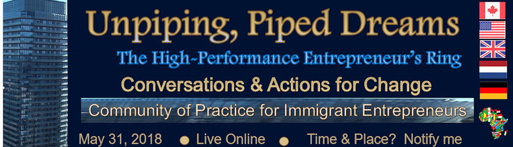 community of practice for Caribbean Immigrant Entrepreneurs, notify me, Canada, USA, France, the Netherlands, Africa, Germany, online networking, conversations and planning sessions