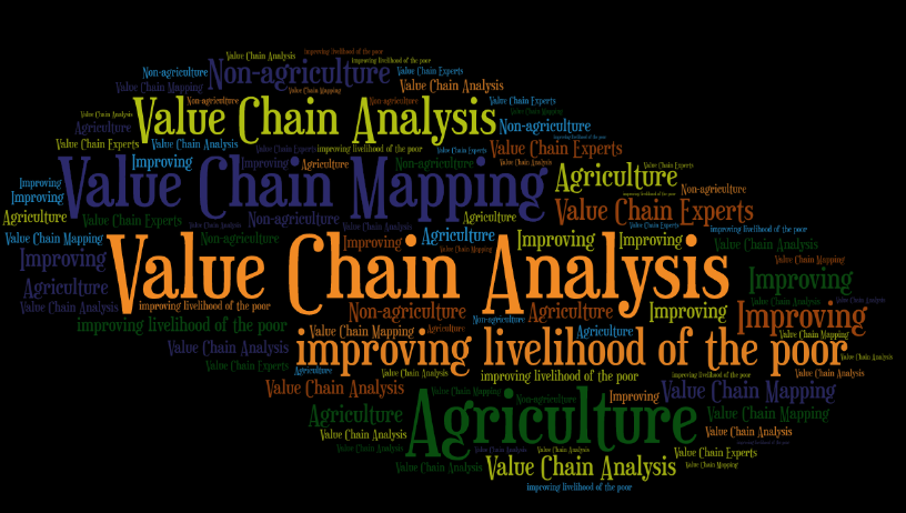 value chain mapping, value chain analysis, agriculture and value chains, improving livelihoods, value chain analysis consulting solutions