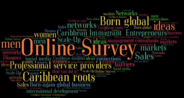 born global and born again global Caribbean immigrant business survey