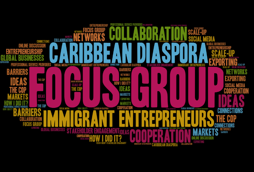 focus group, the community of practice for Caribbean Immigrant Entrepreneurs