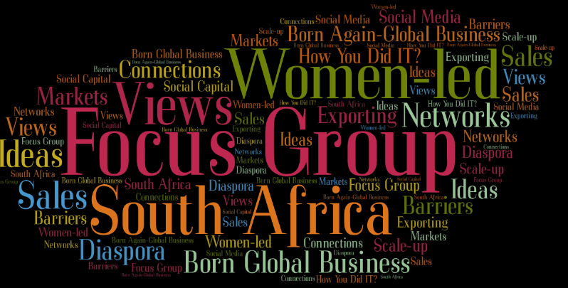focus group women-led management consulting businesses South Africa SMEs small medium sized enterprises
