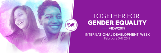 International Development week 2019 together for gender equality global affairs Canada