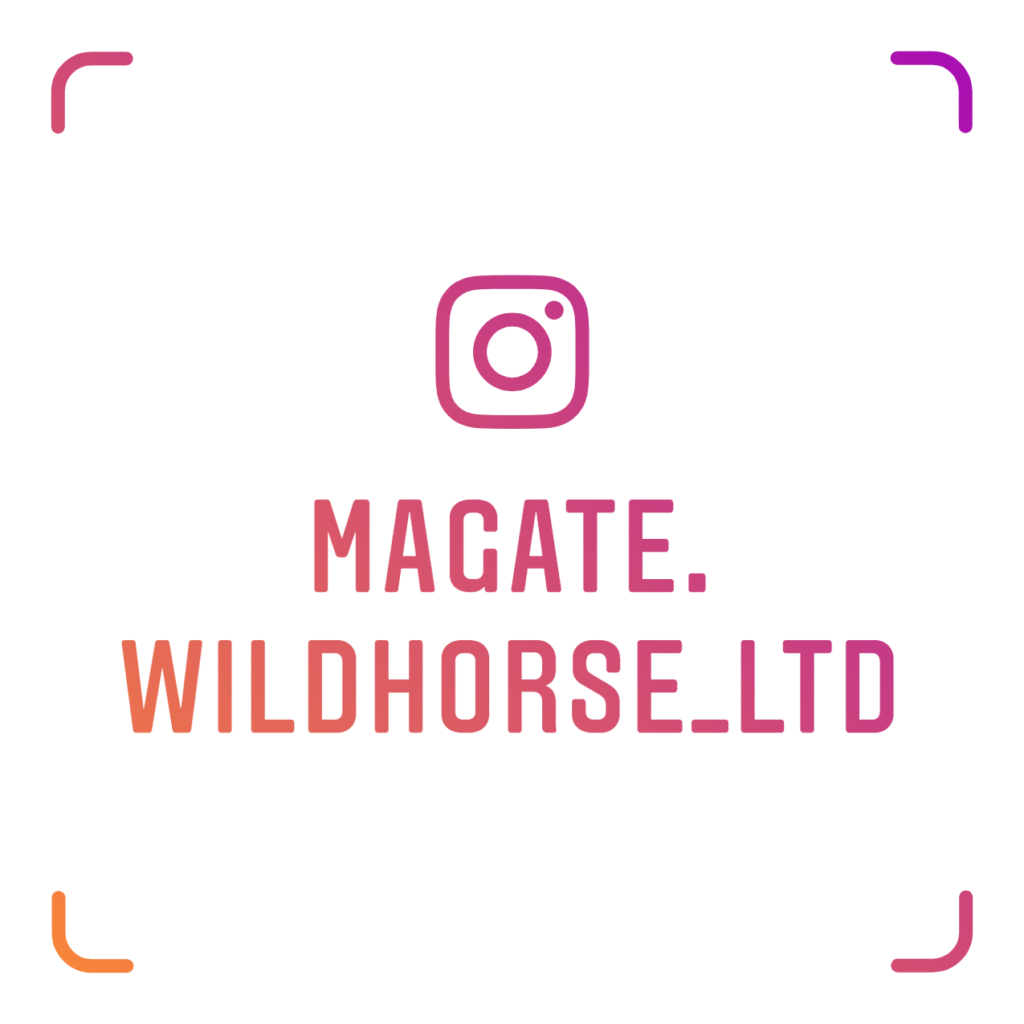 Magate Wildhorse Ltd instagram badge magate wildhorse ltd @magate.wildhorse_ltd