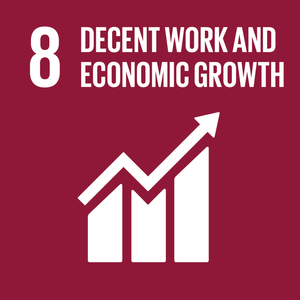 SDG # 8 Decent work and economic growth