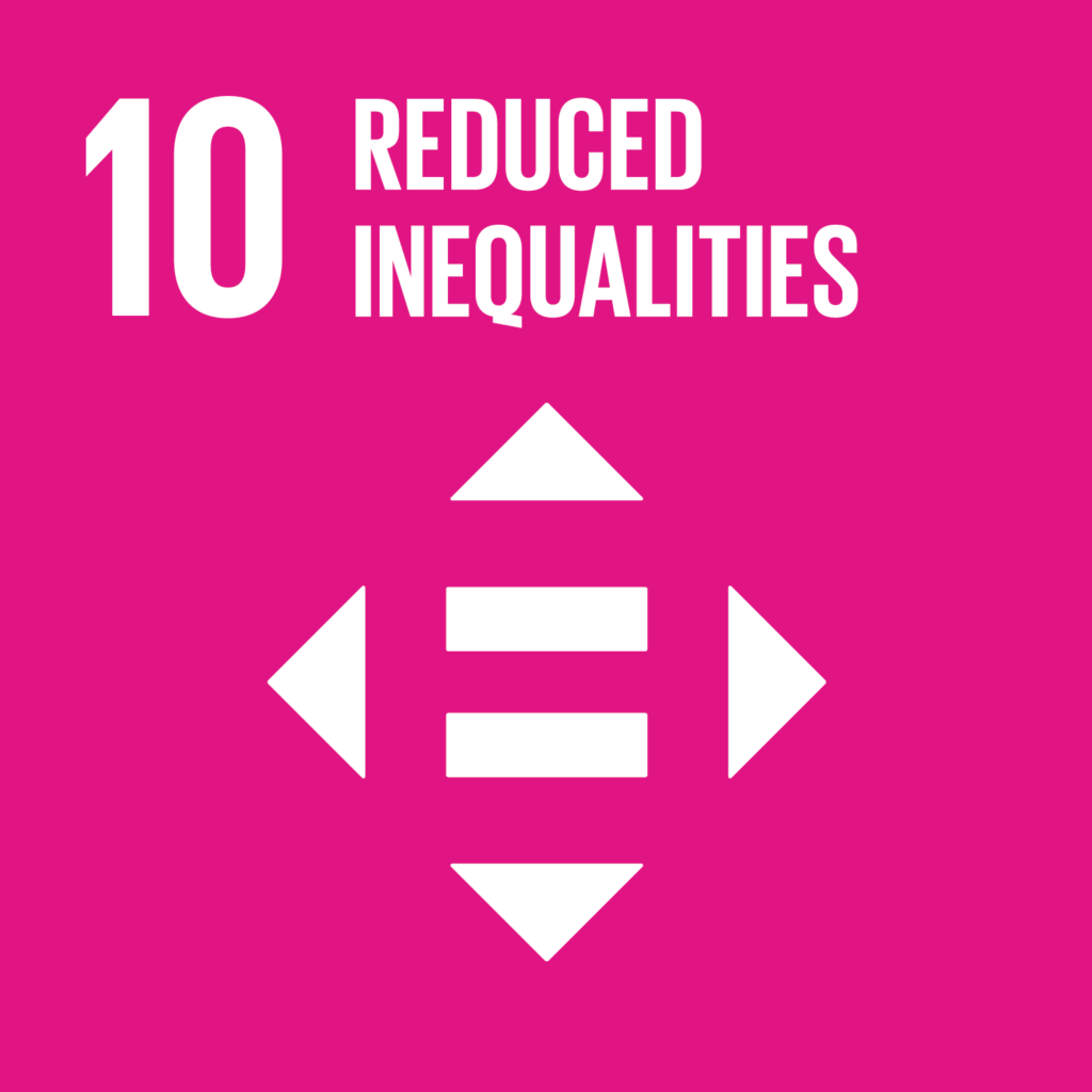 SDG #10 Reduced Inequalities