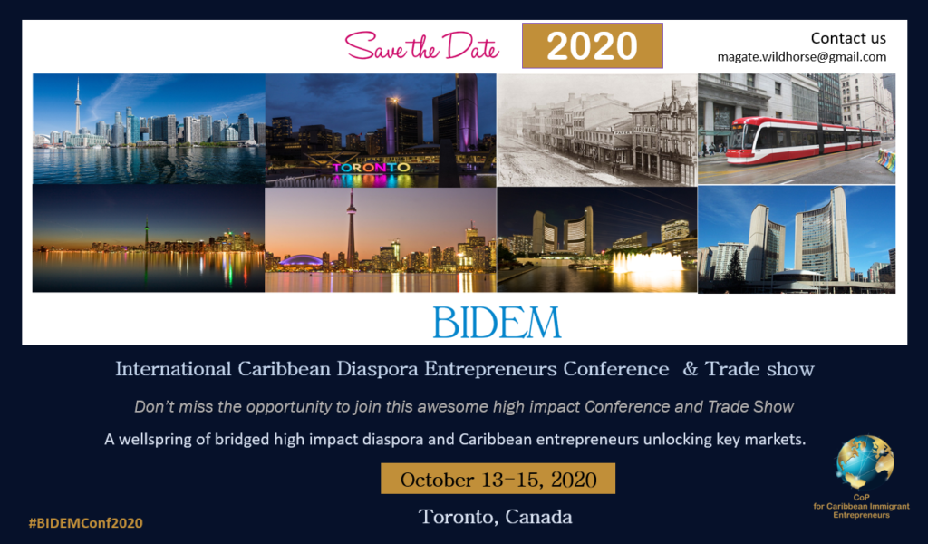 BIDEM International Caribbean Diaspora Entrepreneur Development Conference & Trade Show