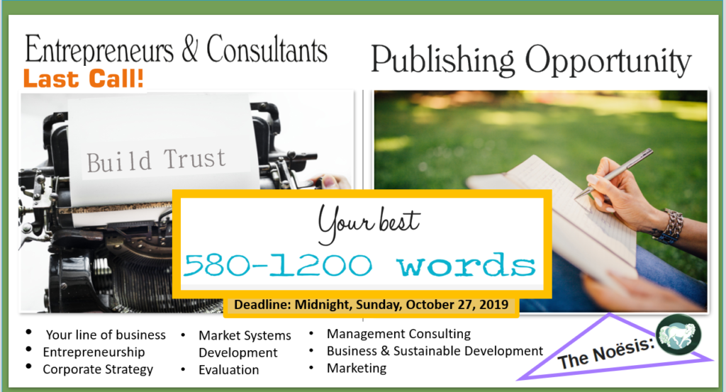 authorship entrepreneurs, publishing opportunity