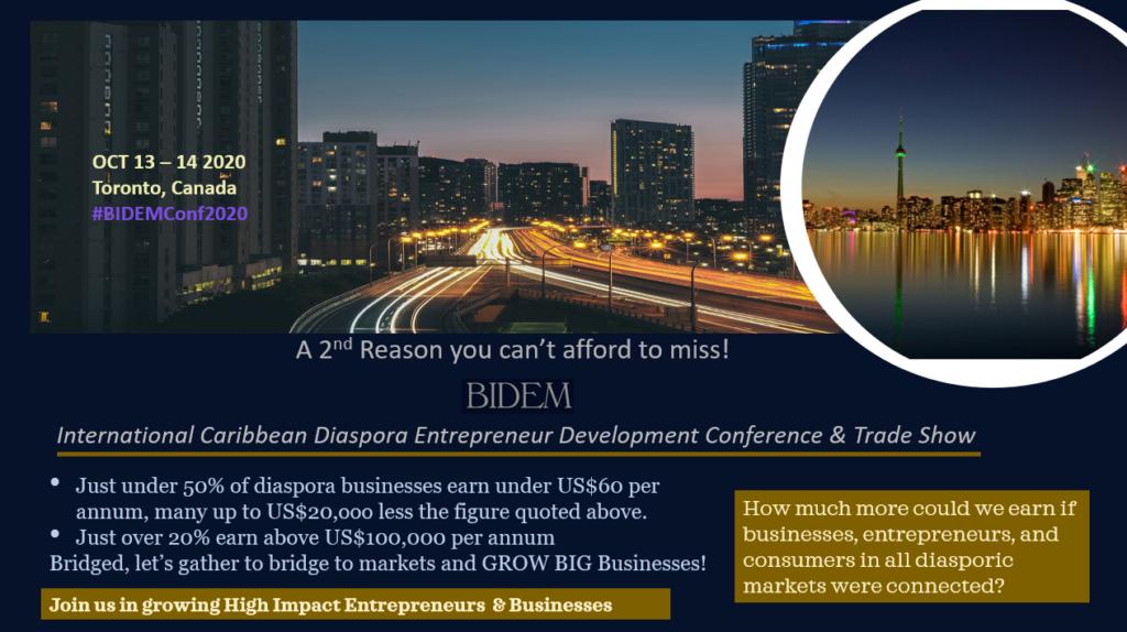 a second reason you cant miss bidem