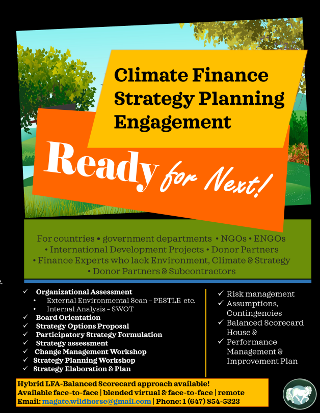 Climate Finance Strategy Planning smart2