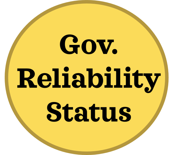 Government reliability status