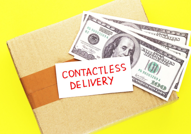 Contact less delivery