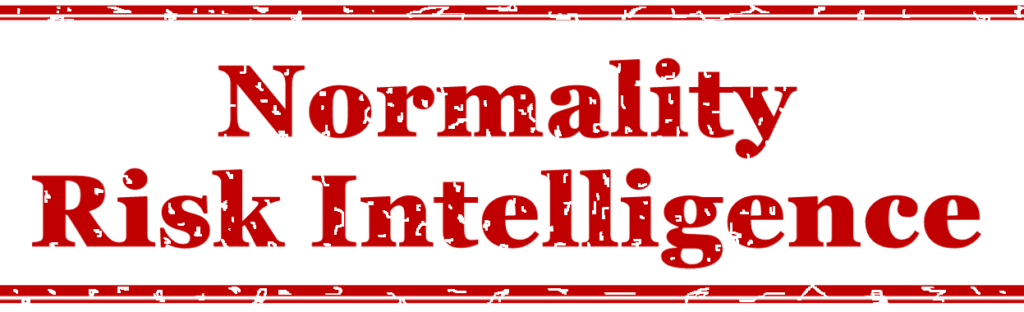 Normality risk intellligence by Meegan Scott