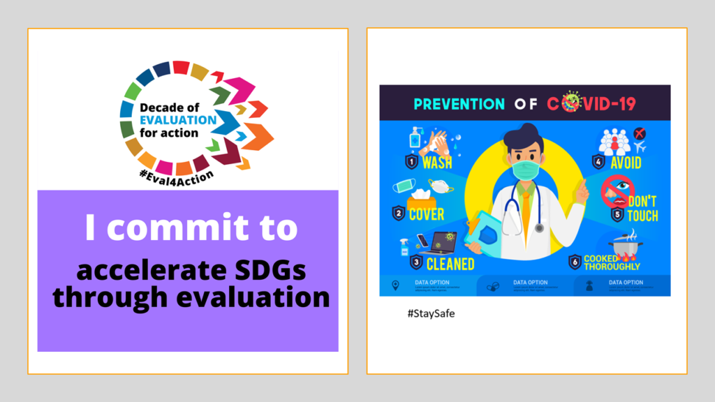 Commit to Evaluation for SDGs Prevent COVID