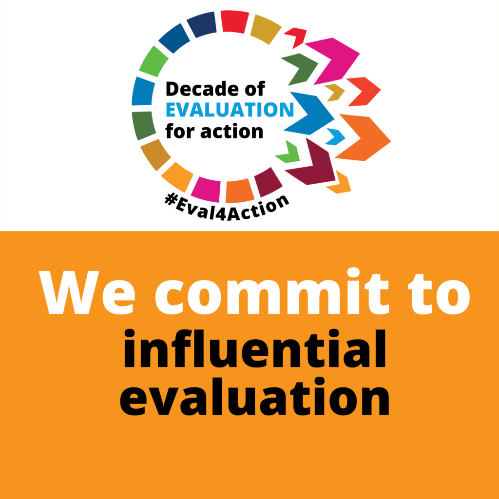 Placards-we commit to influential evaluation