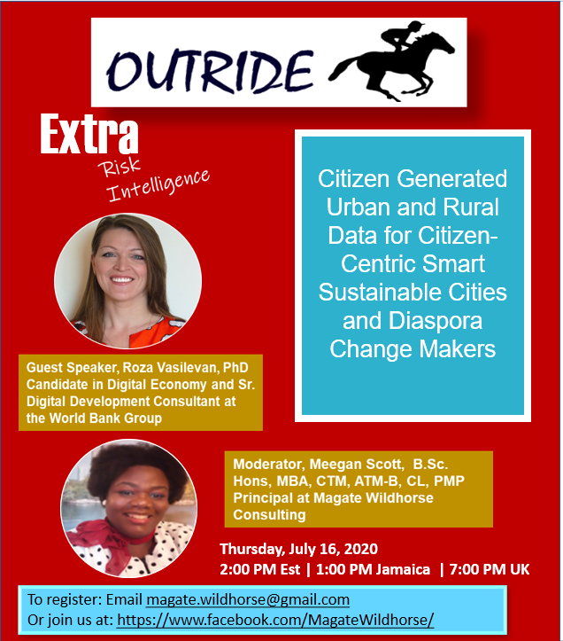 Event Flyer Citizen Generated Data